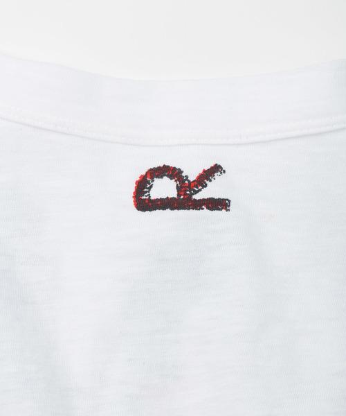 ラグプリントのビッグTシャツ