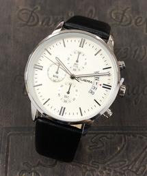 4A.M.LIFESTYLE(フォーエーエムライフスタイル)のクロノグラフ ウオッチ(腕時計)
