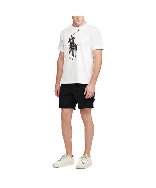 カスタム スリム フィット コットン Tシャツ