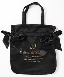 Maison de FLEUR(メゾンドフルール)のダブルリボントートバッグ(トートバッグ)