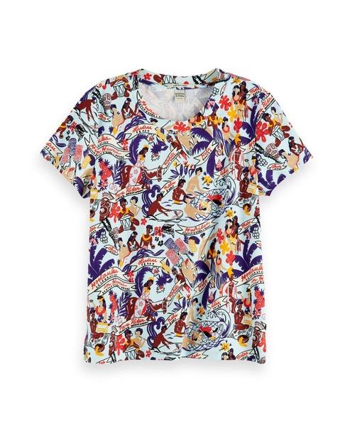 オールオーバープリントTシャツ【156525】