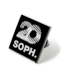 SOPH.20(ソフトゥエンティー)のSQUARE LOGO PINS(バッジ)