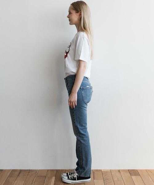 PEANUTS(R) COLLECTION  スヌーピー バットウィングロゴTシャツ PEANUTS