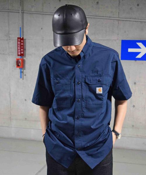 Carhartt(カーハート) FORCE RIDGEFIELD フォースリッジフィールド ショートスリーブシャツ