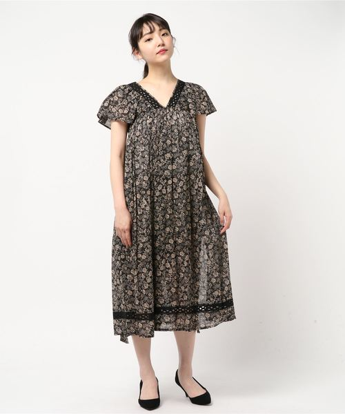 (NE QUITTEZ PAS)Flw Prt Dress