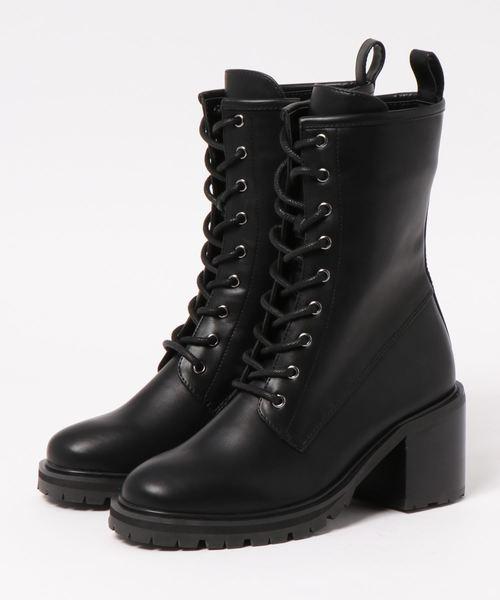 【在庫あり/即出荷可】 LACE UP CHUNK CHUNK UP BOOTS(ブーツ)|MOUSSY(マウジー)のファッション通販, めがね侍:9970ba5b --- grow.profil41.de