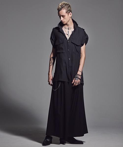 kiryuyrik(キリュウキリュウ)の「LooseShirt(シャツ/ブラウス)」|ブラック