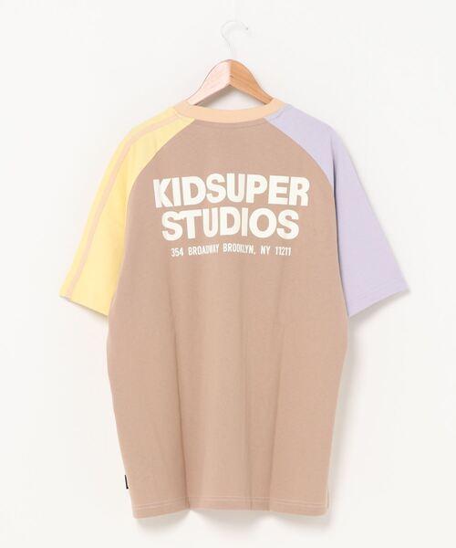 PUMA(プーマ)の「PUMA x KIDSUPER STUDIOS カラーブロック 半袖 Tシャツ(Tシャツ/カットソー)」|詳細画像