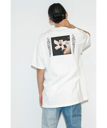<BROW × Kate Bellm> Exclusive for <monkey time> FLOWER TEE/Tシャツ