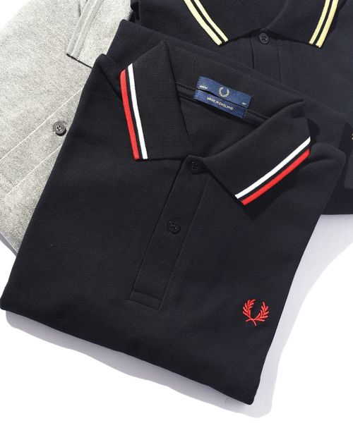 FRED PERRY(フレッドペリー)の「FRED PERRY: ENGLAND M12 ポロシャツ(ポロシャツ)」|ブラック