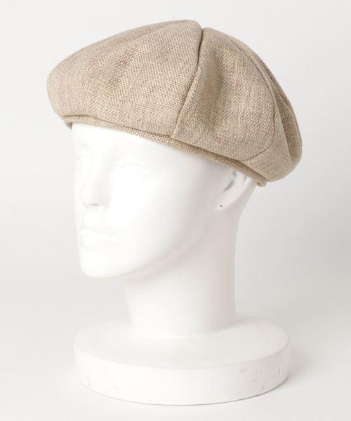 □ ∴リネン風ベレー帽