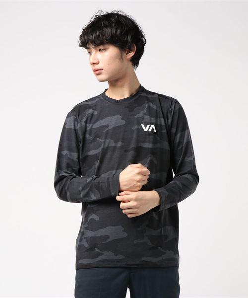 Black RVCA Mens VA Sport VA Vent Performance Shirt