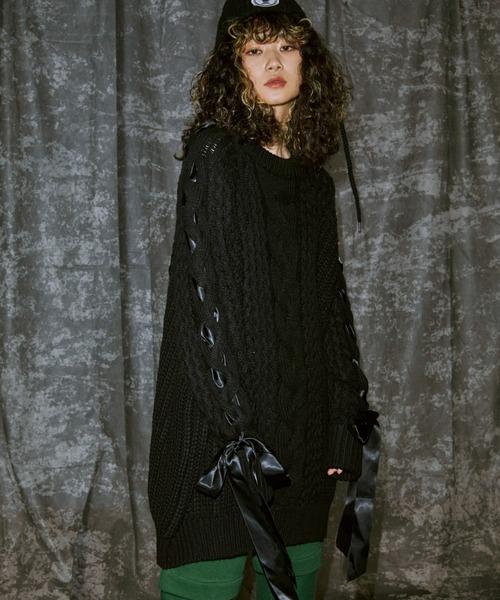 安い Ribbon PAMEO Stitch Knit(ニット/セーター) Stitch|PAMEO POSE(パメオポーズ)のファッション通販, フォワードグリーン:da15b1ea --- blog.buypower.ng