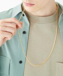 チャームネックレス/ロングチェーンネックレス 真鍮 /MONO-MART Selectゴールド系その他3