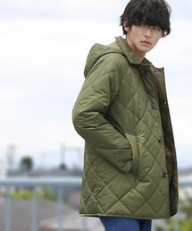 LIMONTA(リモンタ)×KOMATSU(小松精練)キルトフーデッドコート