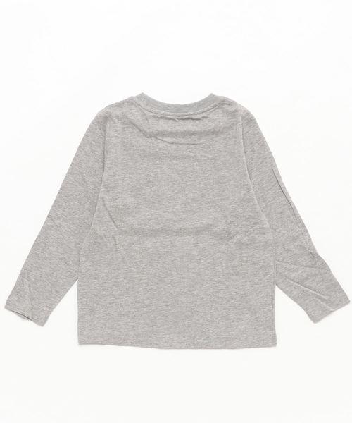 【キッズ】ブラックウォッチプリントロングTシャツ(100~160cm)