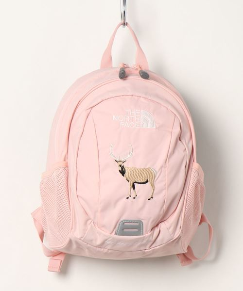 THE NORTH FACE(ザノースフェイス)の「THE NORTH FACE/ザ・ノースフェイス/Day pack/キッズ用リュックhome slice NMJ72005(バックパック/リュック)」 ピンク