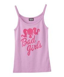 BAD GIRLS キャミソールパープル