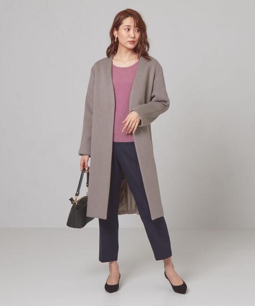 【予約】<closet story>◎W/N カラーレス コート