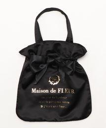 Maison de FLEUR(メゾンドフルール)のリボントートバッグ(トートバッグ)