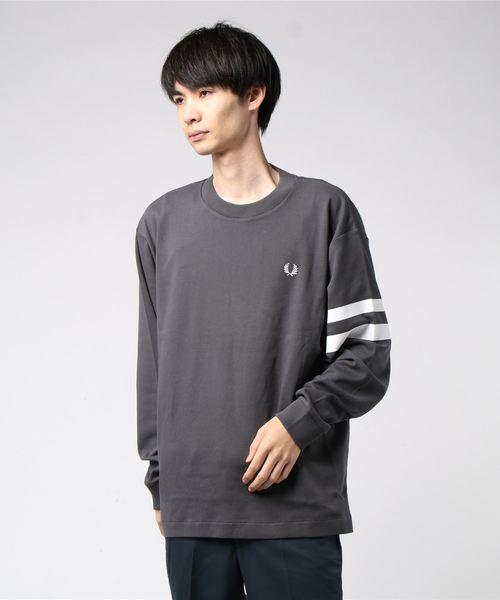 【好評にて期間延長】 Tipped Sleeve Sleeve Sweatshirt(スウェット) FRED FRED PERRY(フレッドペリー)のファッション通販, 激安先着:92f1c8f7 --- tsuburaya.azurewebsites.net
