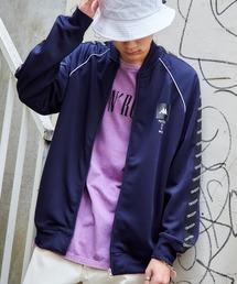 Kappa/カッパ 別注 袖サイドライントラックジャケット/ジャージネイビー
