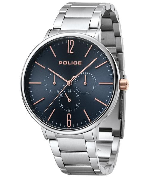 POLICE(ポリス)の「【POLICE】ポリス SPECTRUM メンズ 腕時計(腕時計)」|ダークブルー