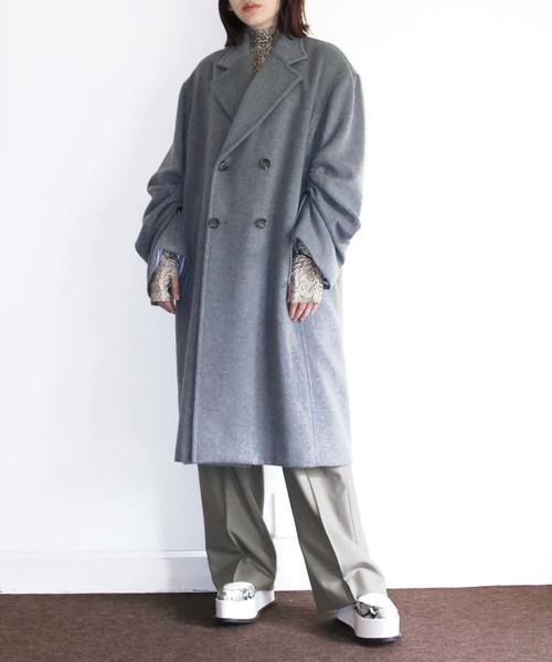 高級ブランド LIGHT WOOL by DRAWSTRING MELTON WOOL DRAWSTRING SLEEVE COAT(チェスターコート)|G.V.G.V.(ジーヴィージーヴィー)のファッション通販, マツイダマチ:80220fc5 --- hundefreunde-eilbek.de
