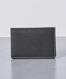 <Whitehouse Cox(ホワイトハウスコックス)>シボ S-7412 NAME CARD CASE†