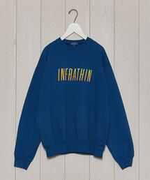 <INFRATHIN>PUFFGRA CREW NECK PULLOVER/スウェット.