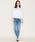 YANUK(ヤヌーク)の「YANUK   ケミカルウォッシュ リラックスドスリム デニムパンツ   KAY (ケイ) /57163064(デニムパンツ)」 詳細画像