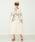 CAROLINA GLASER(カロリナ グレイサー)の「CAROLINA GLASER / 刺繍 ロングワンピース(ワンピース)」|ナチュラル
