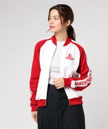LINE GIRLプリントジャケット