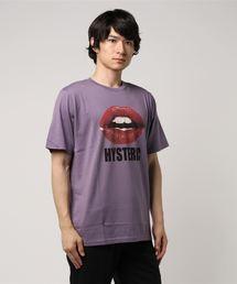 HYSTERIC GLAMOUR(ヒステリックグラマー)のLIPSプリントTシャツ(Tシャツ/カットソー)