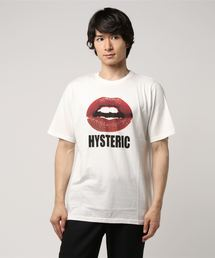 HYSTERIC GLAMOUR(ヒステリックグラマー)のLIPSプリントTシャツ(Tシャツ/カットソー)