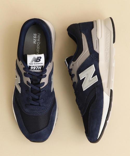New Balance(ニューバランス)の「<New Balance(ニューバランス)>∴CM997H CLASSIC スニーカー о(スニーカー)」|ネイビー