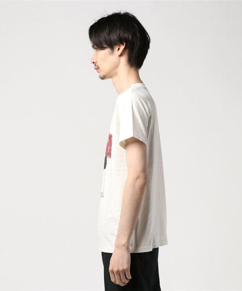 REMI RELIEF(レミレリーフ)  別注スペシャル加工Tシャツ  the flower children
