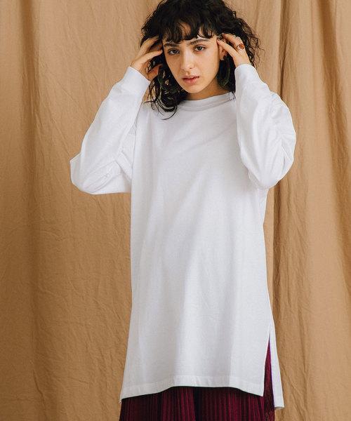 PUBLIC TOKYO(パブリックトウキョウ)の「コンフォートロンT(Tシャツ/カットソー)」|ホワイト