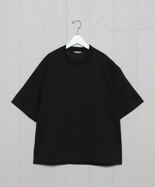 <AURALEE>STAND UP T-SHIRT/Tシャツ.