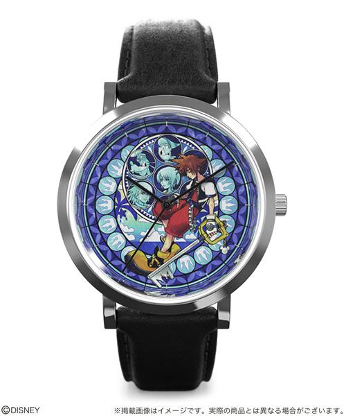 """【シリアルナンバー入り】Disney Lifestyle Collection ディズニー KINGDOM HEARTS Watch -Art Collection """"SORA""""- キングダム ハーツ 男女兼用腕時計"""