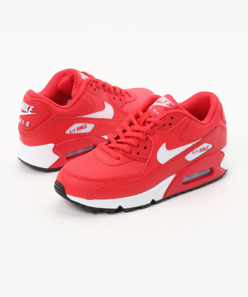 NIKE WMNS AIR MAX 90 (SPEED RED/WHITE