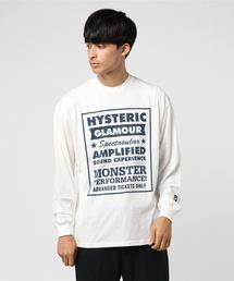 LIVE HYS リブ付Tシャツ