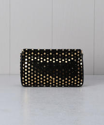 <JEROME DREYFUSS>DOTTED CLUTCH BAG/クラッチバッグ