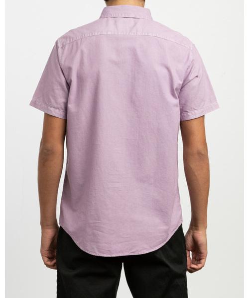 RVCA メンズ  THAT'LL DO BUTTER ショートスリーブシャツ