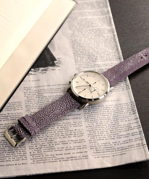 スティングレイレザー時計ベルト単品20mm