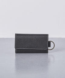 <Whitehouse Cox(ホワイトハウスコックス)>シボ S-9692 KEY CASE WITH RING†