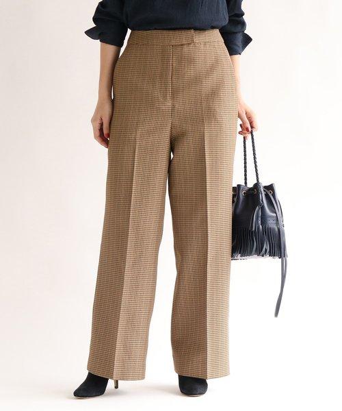 おすすめネット ガンクラブチェックワイドパンツ(パンツ)|aquagirl(アクアガール)のファッション通販, 良い国産:bb9123bf --- svarogday.com