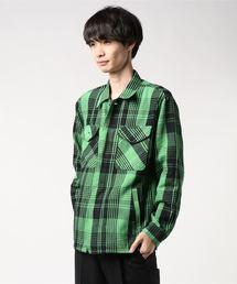 HYSTERIC GLAMOUR(ヒステリックグラマー)のHYSTERIC LOGOワッペン CPOシャツ(シャツ/ブラウス)