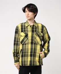 HYSTERIC LOGOワッペン CPOシャツ