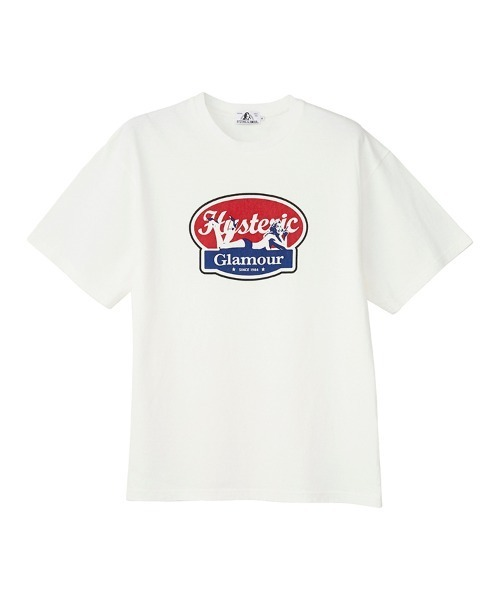 OVAL WOMAN LOGO Tシャツ